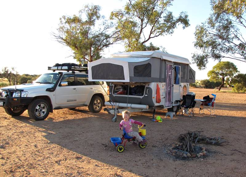 Agnes Waters free outback camping