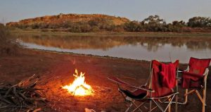 Camping at Diamantina National Park