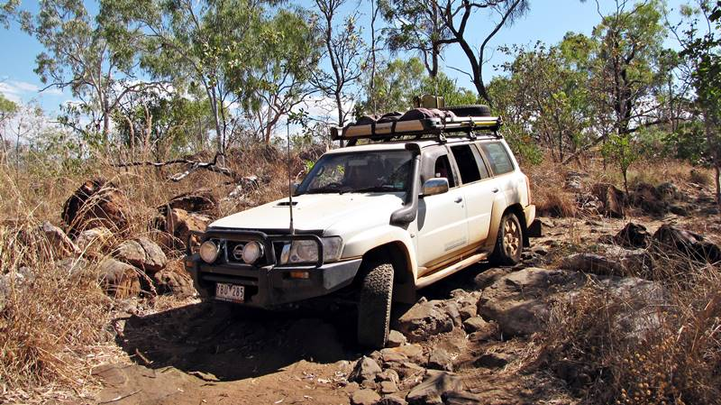 Off road driving - have good clearance