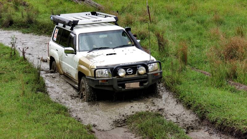Off road driving in deep water