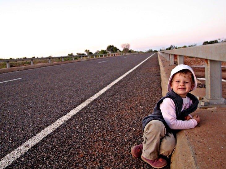 Nell on Stuart Highway