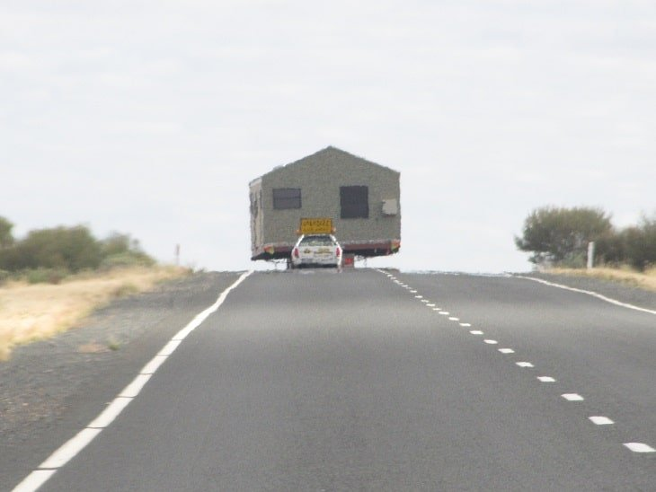 Stuart Highway - House on the road