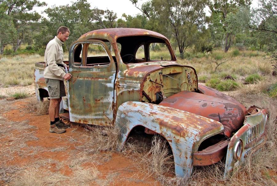 Arltunga Historical Reserve miners car