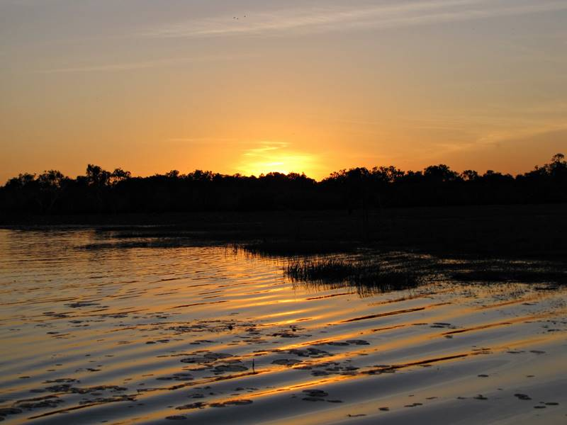 Corroboree Billabong Sunset