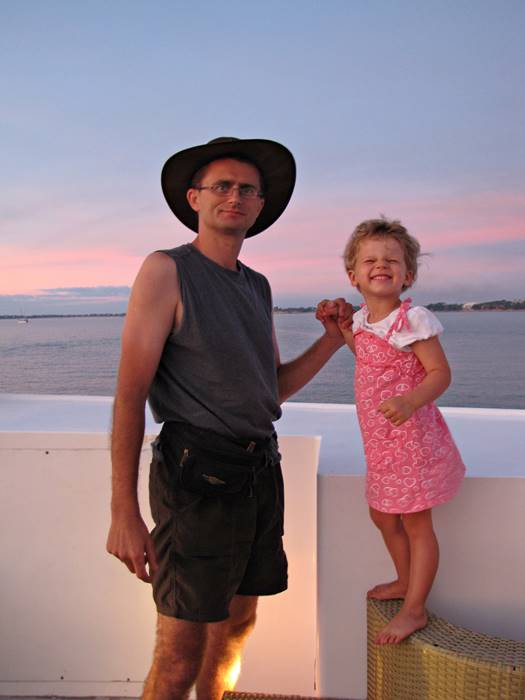 Darwin sunset cruise with Nell