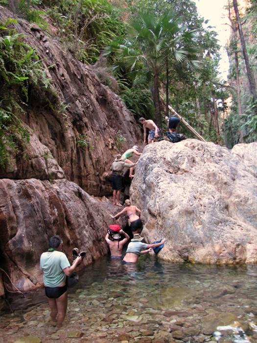 El Questro Gorge - beginning of red trail