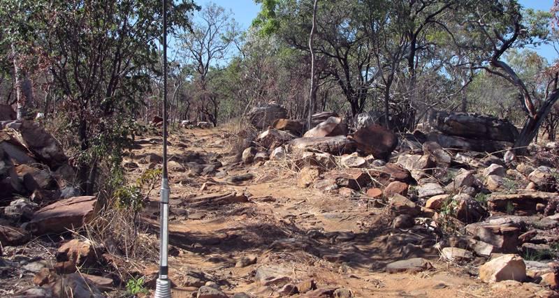 Wunnamurra Gorge track