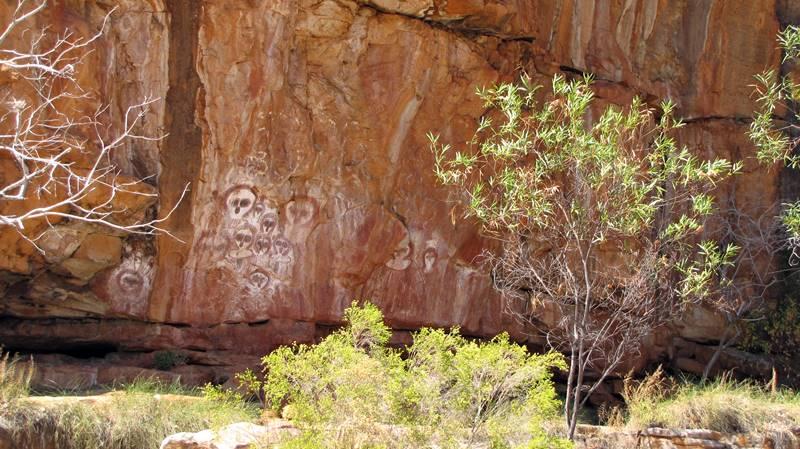 Wunnamurra Gorge - Aboriginal Art