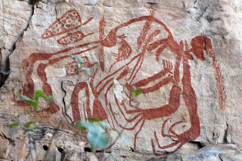 Ubirr - Aboriginal Paintings