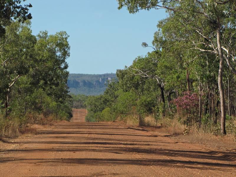 Road to Jim Jim Falls