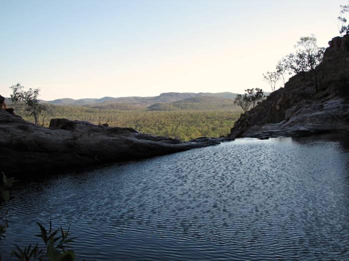 Gunlom Falls Infinite Rock Pools