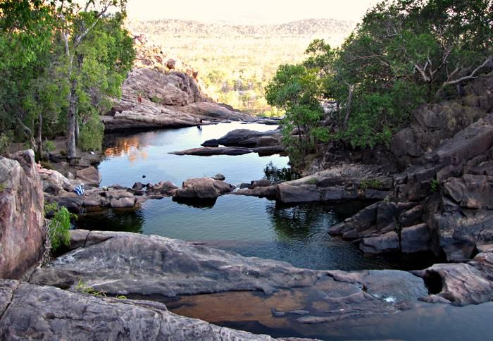 Gunlom Falls Rock Pools