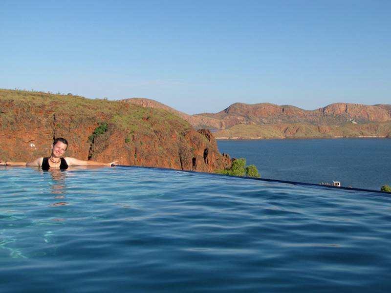 Lake Argyle - infinite pool