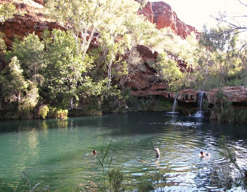 Karijini National Park - Fern Pool