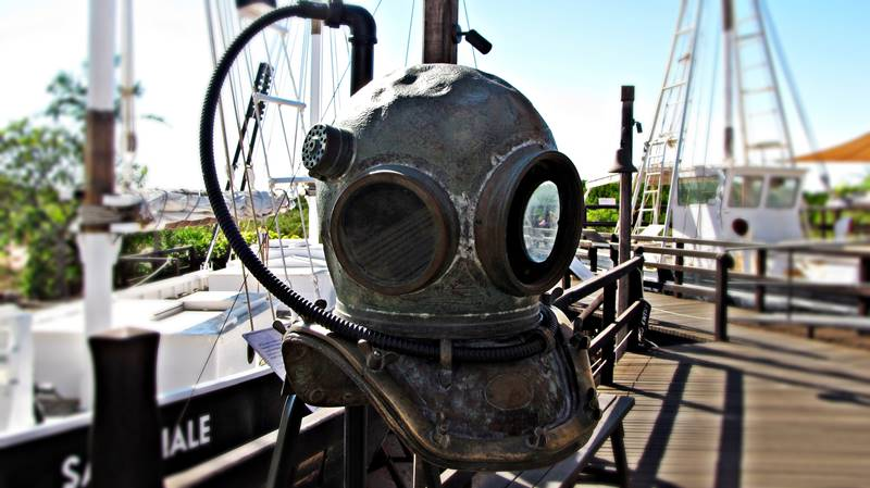 Broome - Old diving suite
