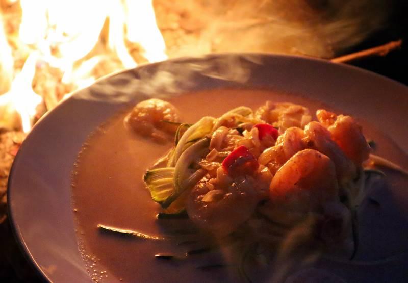 Keto Shrimp Curry