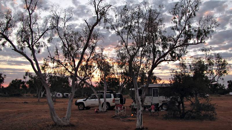 Barradale Free Campground