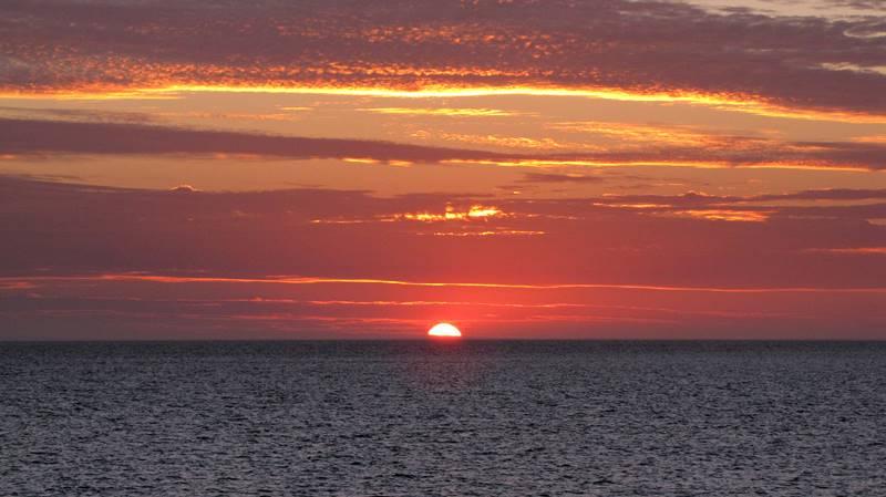 Denham sunset