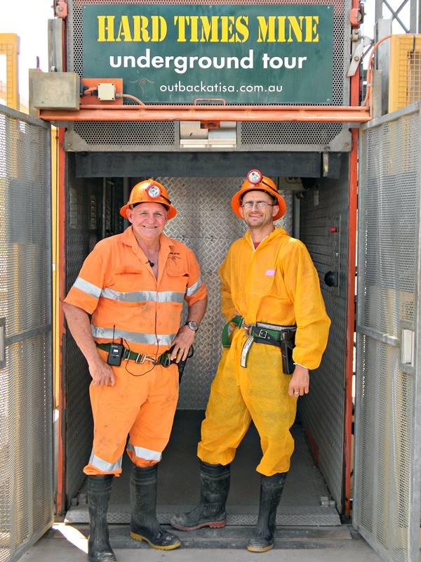 Mt Isa Underground Mine Tour
