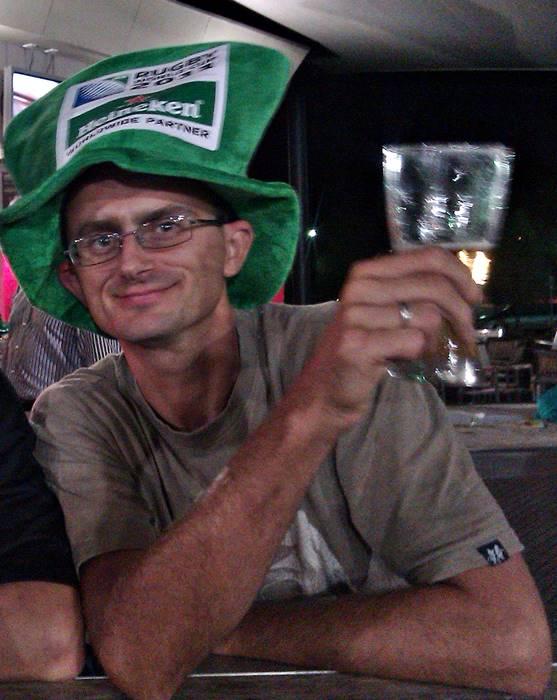 Alice Springs - Celebrating the All Blacks win!