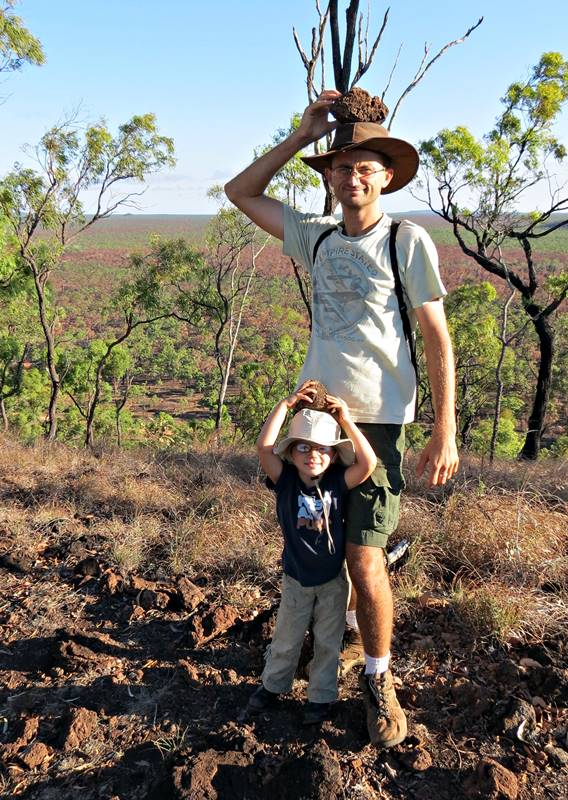 Kalkani Crater rim walk - our trophies