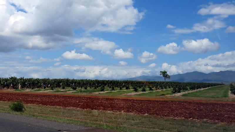 Driving down to Atherton Tableland