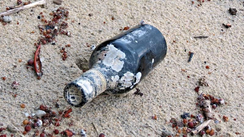 Wonga Beach debris