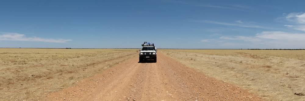 Emptiness on Urandangi Road