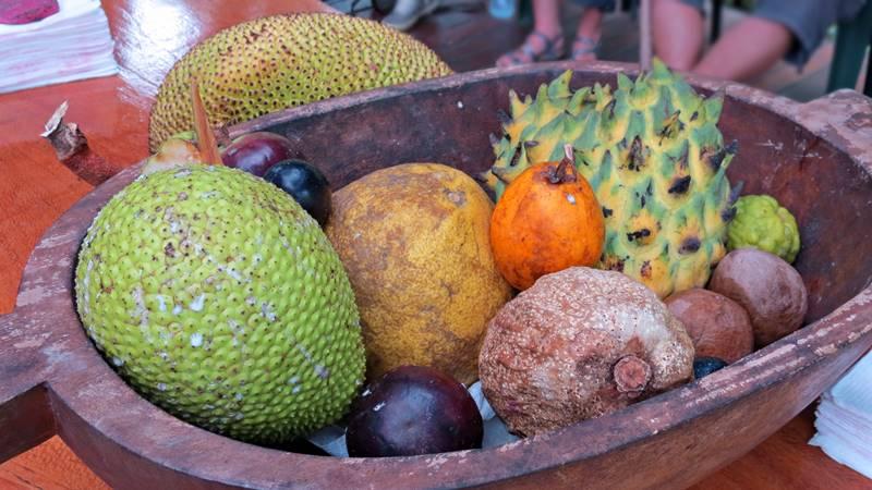 Exotic Fruit Tasting