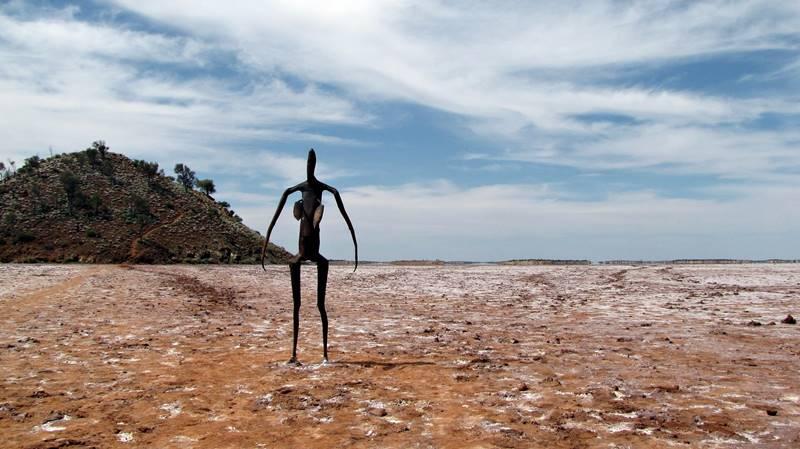Lake Ballard Sculptures
