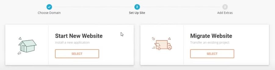 SiteGround - Start New Website