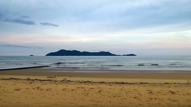 Dunk Island from distance