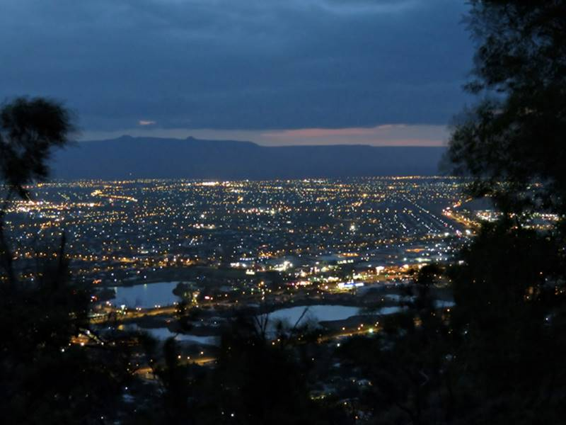 Townsville attractions - Castle Hill at night