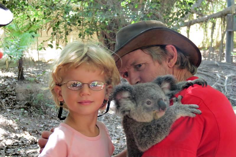 Nell with koala