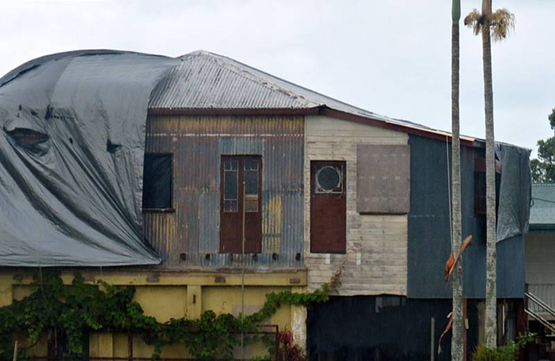 Post cyclone house