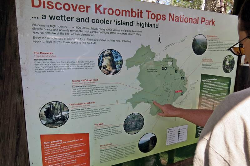 Studying Kroombit Tops National Park