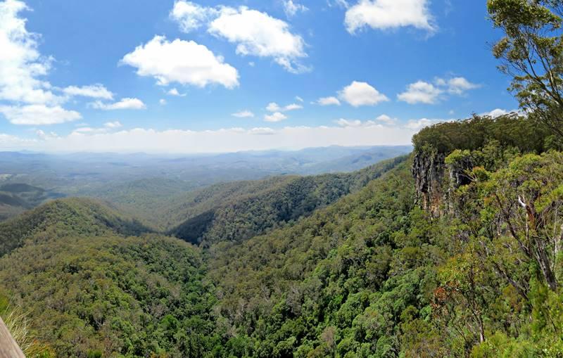 Kroombit Tops National Park Lookout