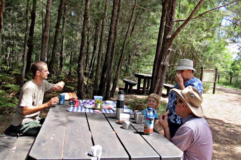 Resting at Kroombit Tops National Park