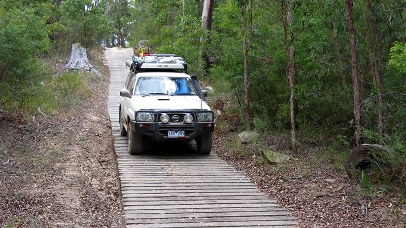 4WD in Kroombit Tops National Park