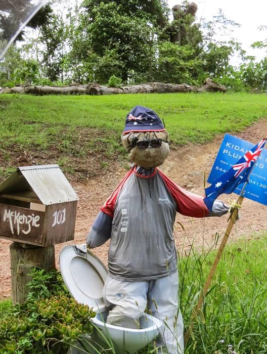 People at Sunshine Coast Hinterland have a good sense of humor