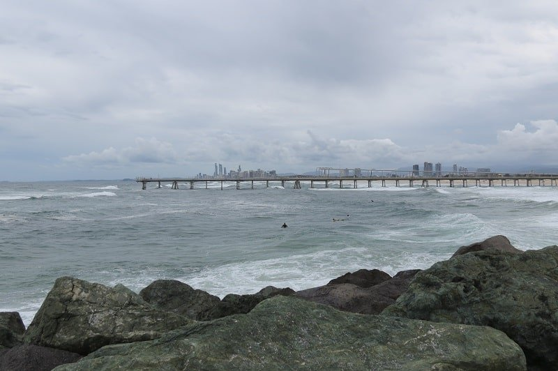 The Spit - the best fishing spot in Gold Coast