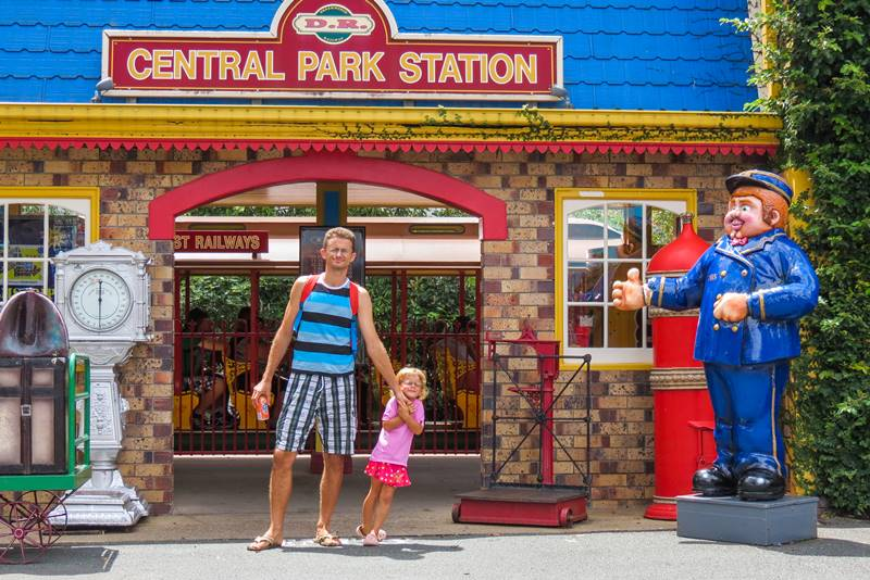 One of the joyful theme parks - Dreamworld
