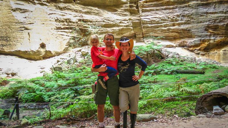 Marius, Kasha and Nell at the Amphitheater