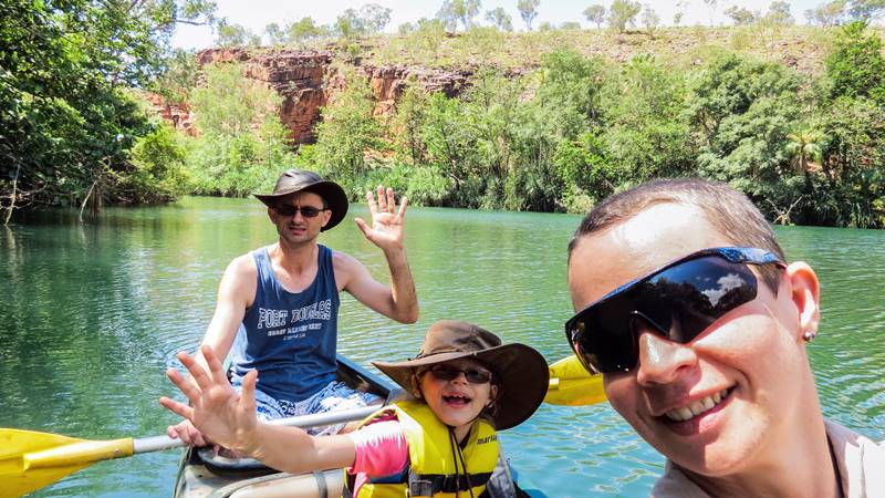 Lawn Hill Gorge Canoeing