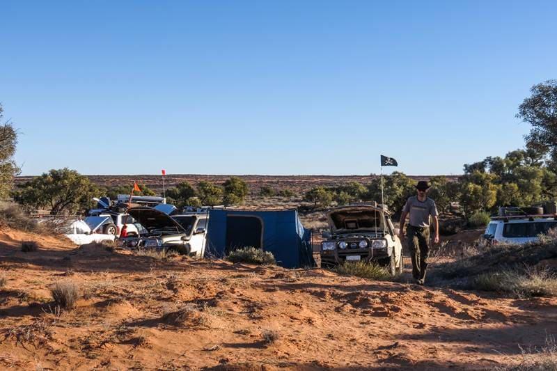 Camping at Poeppel Corner