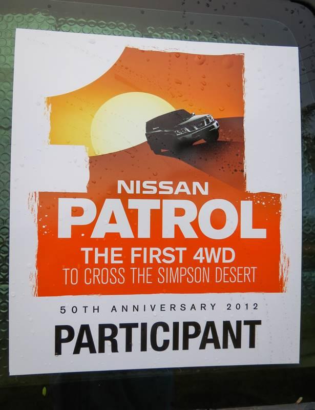 Brisbane to Birdsville - Nissan Patrol - The first 4WD to cross the Simpson Desert