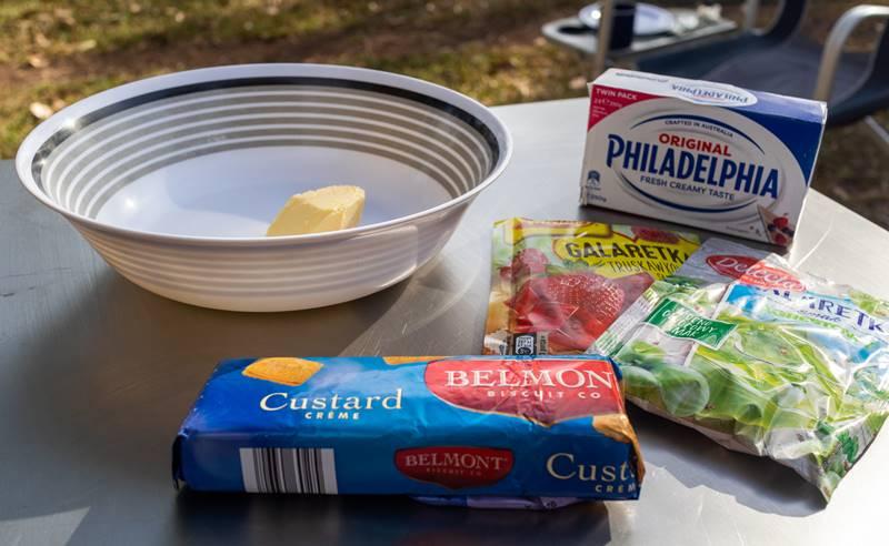 Polish cheesecake - Ingredients