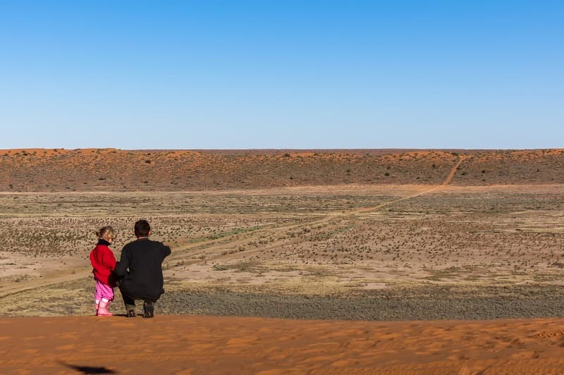 Little Red Sand Dune - What a view!