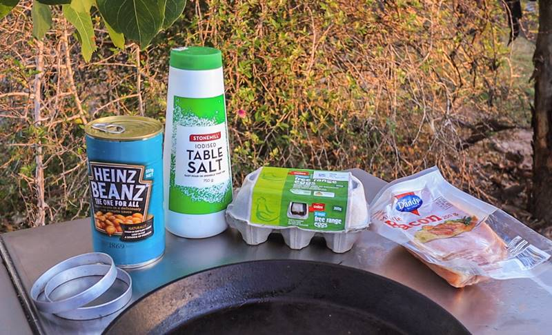 How to prepare English Breakfast - Ingredients