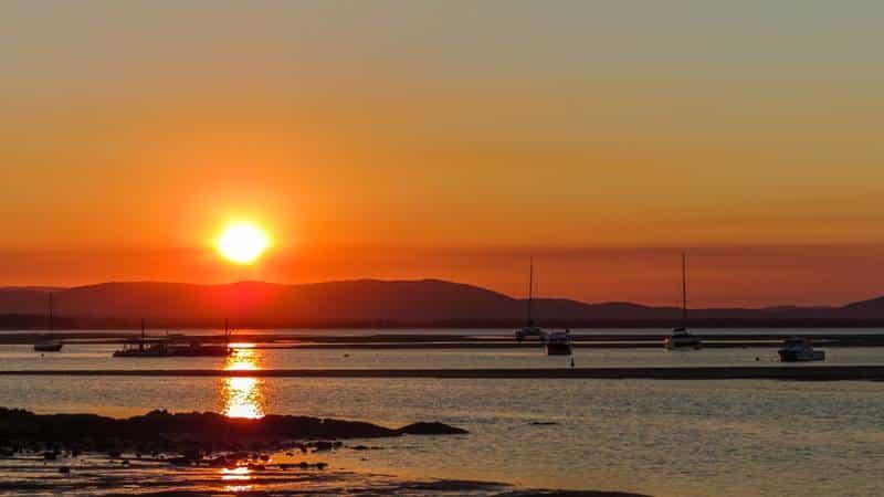 Town of 1770 - Beautiful Sunset